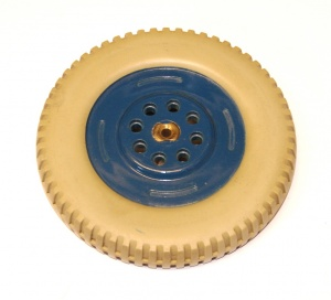187b Plastic Road Wheel 4¼'' Grey/Blue Original