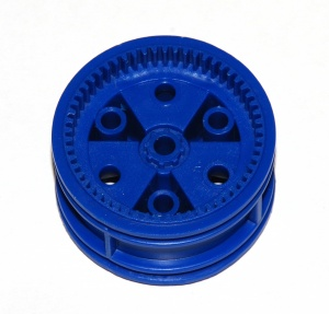 187cm Road Wheel Centre 1¾'' Geared Blue Original