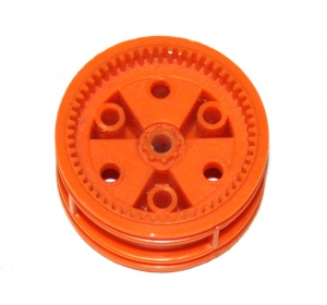 187cm Road Wheel Centre 1¾'' Geared Orange Original