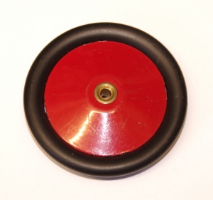187 Road Wheel 2½'' Metal Red / Black Original
