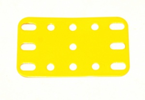 188 Flexible Plate 5x3 French Yellow Original