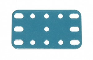 188 Flexible Plate 5x3 Light Blue Original