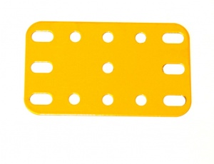 188 Flexible Plate 5x3 UK Yellow