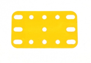 188 Flexible Plate 5x3 UK Yellow Original