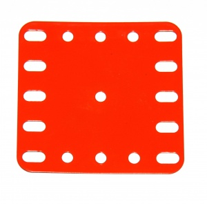 190 Flexible Plate 5x5 Orange Original