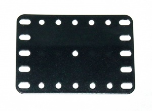 190a Flexible Plate 5x7 Black Original