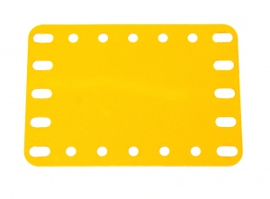 190a Flexible Plate 5x7 UK Yellow Original