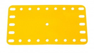 191 Flexible Plate 5x9 UK Yellow