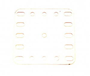 193a Transparent Plate 5x5 Hole