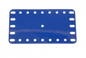 194c Flexible Plastic Plate 9x5 Blue Original