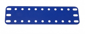 194d Flexible Plastic Plate 11x3 Blue Original