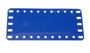 194e Flexible Plastic Plate 11x5 Blue Original