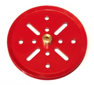 19b 3'' Pulley Red