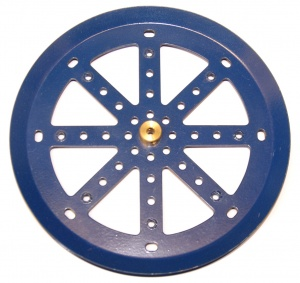19c 6'' Pulley with Boss Blue