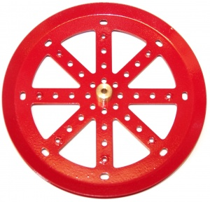 19c 6'' Pulley with Boss Red
