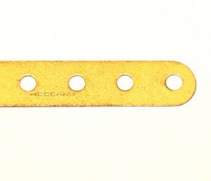 1d Standard Strip 37 Hole Gold Used