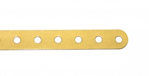 1 Standard Strip 25 Hole Gold Repainted