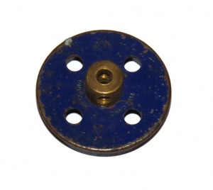 20 Flanged Wheel 1 1/8'' Diameter Blue Original