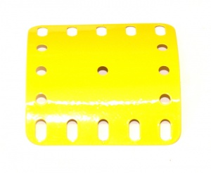 200 C Section Flexible Plate 5x5 French Yellow Original