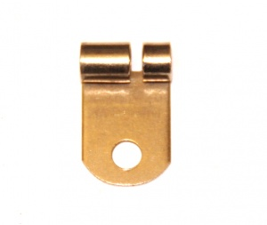 212a Rod and Strip Connector Right Angle Nickel Original