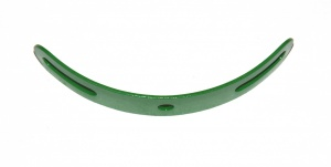 215 Formed Slotted Strip Light Green