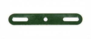 215a Slotted Strip 3'' Green