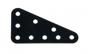221 Flexible Triangular Plate 5x3 Black Original