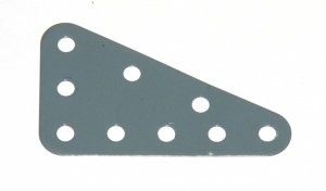 221 Flexible Triangular Plate 5x3 Grey Original