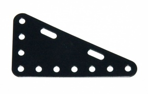 225 Flexible Triangular Plate 7x4 Black Original