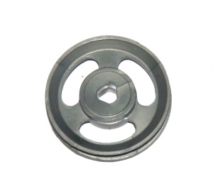 22bp3p 1'' Pulley Plastic Triflat Grey Original