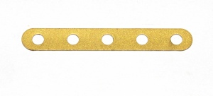 235 Narrow Strip 5 Hole Gold Original