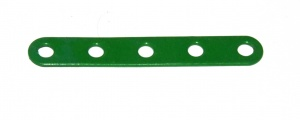 235 Narrow Strip 5 Hole Light Green