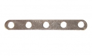235 Narrow Strip 5 Hole Zinc
