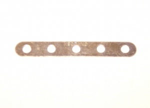235 Narrow Strip 5 Hole Zinc Original