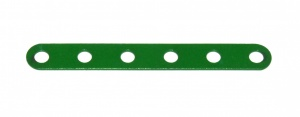 235a Narrow Strip 6 Hole Light Green