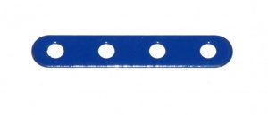 235h Narrow Strip 4 Hole Blue Original