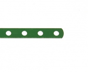 235b Narrow Strip 7 Hole Light Green Original