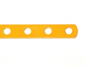 235b Narrow Strip 7 Hole UK Yellow Original