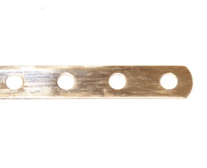 235a Narrow Strip 6 Hole Zinc Original