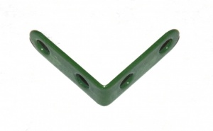 239a Narrow Angle Bracket 2x2 Green