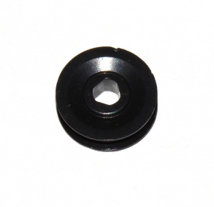23bp ½'' Pulley Without Boss Black Plastic Triflat Original