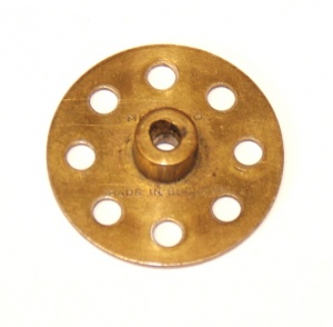 24 Bush Wheel 8 Hole Brass Original