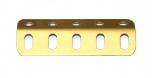 242c Obtuse Angle Girder 5 Hole Gold Pre-Owned