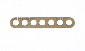 247a Narrow Connector Strip 7 Hole 1 7/8'' Zinc Original