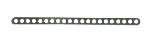 247g Narrow Connector Strip 21 Hole 5 3/8'' Zinc