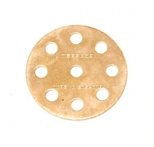 24a Wheel Disk 8 Hole Zinc Original
