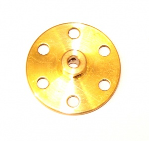 24b Bush Wheel 6 Hole Brass