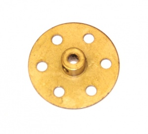 24b Bush Wheel 6 Hole Brass Original