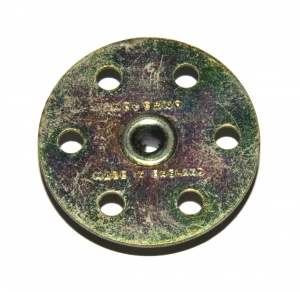 24b Bush Wheel 6 Hole Gold Passivate Original