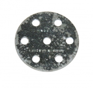 24c Wheel Disk 6 Hole Zinc Seconds